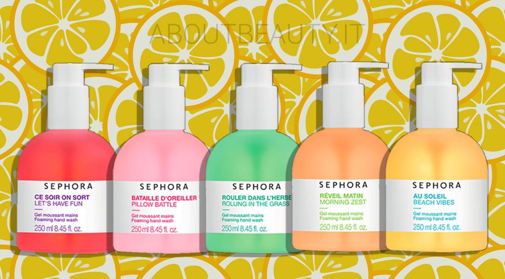 Una fragranza per ogni mood con la nuova Sephora Bath Collection, sapone per le mani