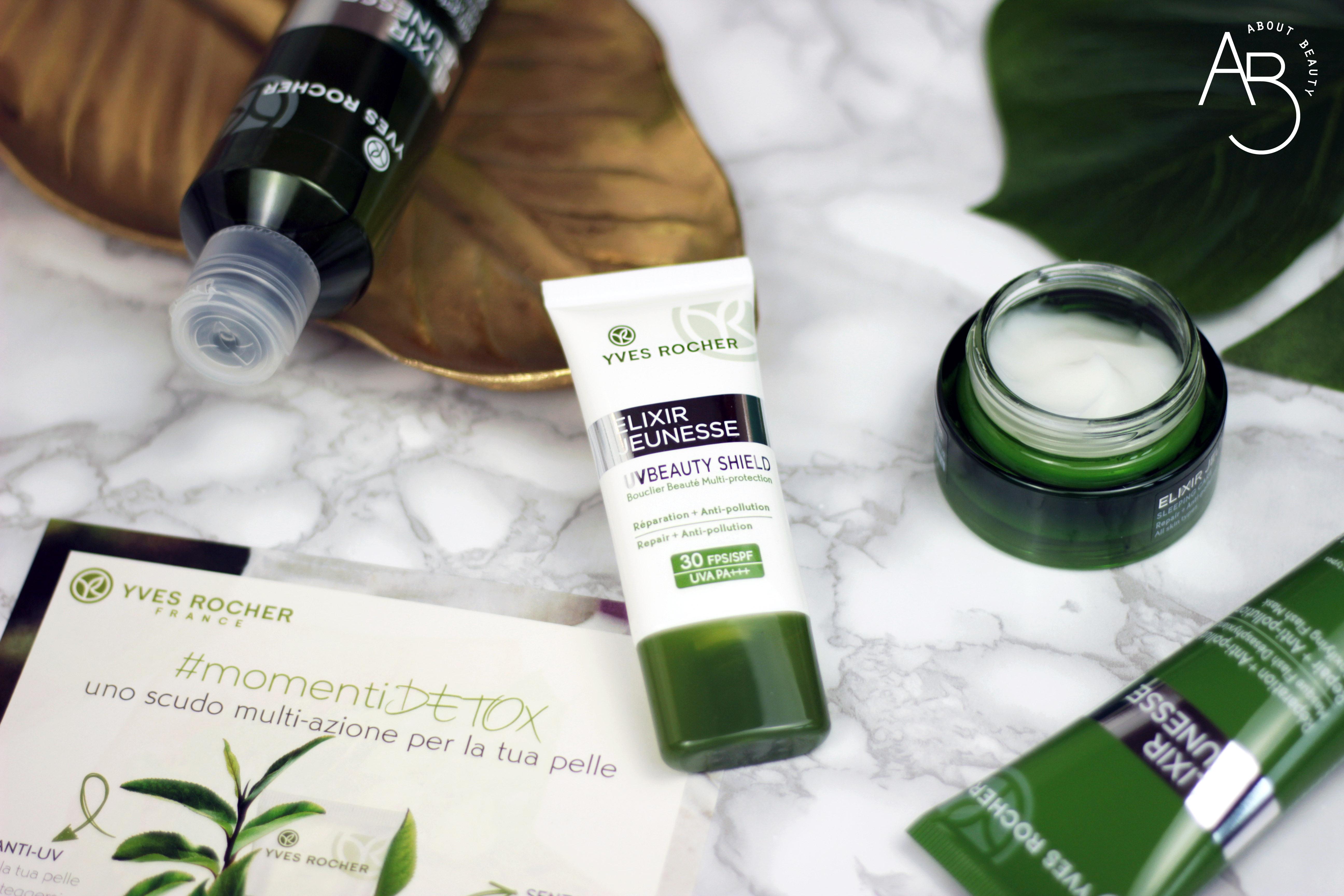 Yves Rocher presenta Elixir Jeunesse UV Beauty Shield SPF30 e SPF50 - Recensione, review, opinioni, info, prezzo, dove acquistare
