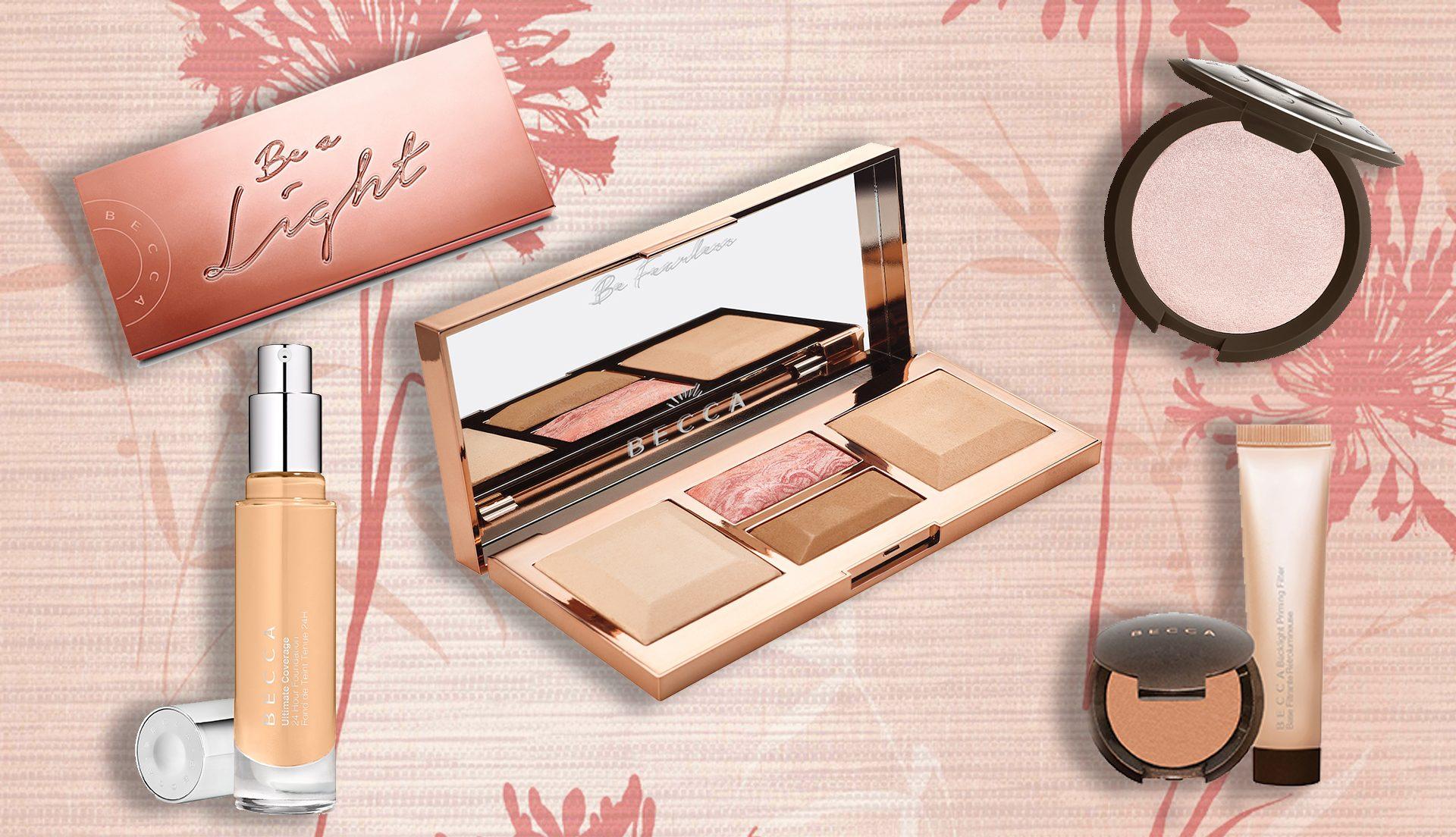 Tutte le novità Becca Cosmetics: la nuova palette viso Be a Light, l'Ultimate Coverage Foundation e i nuovi illuminanti, info, prezzi, swatch, opinioni