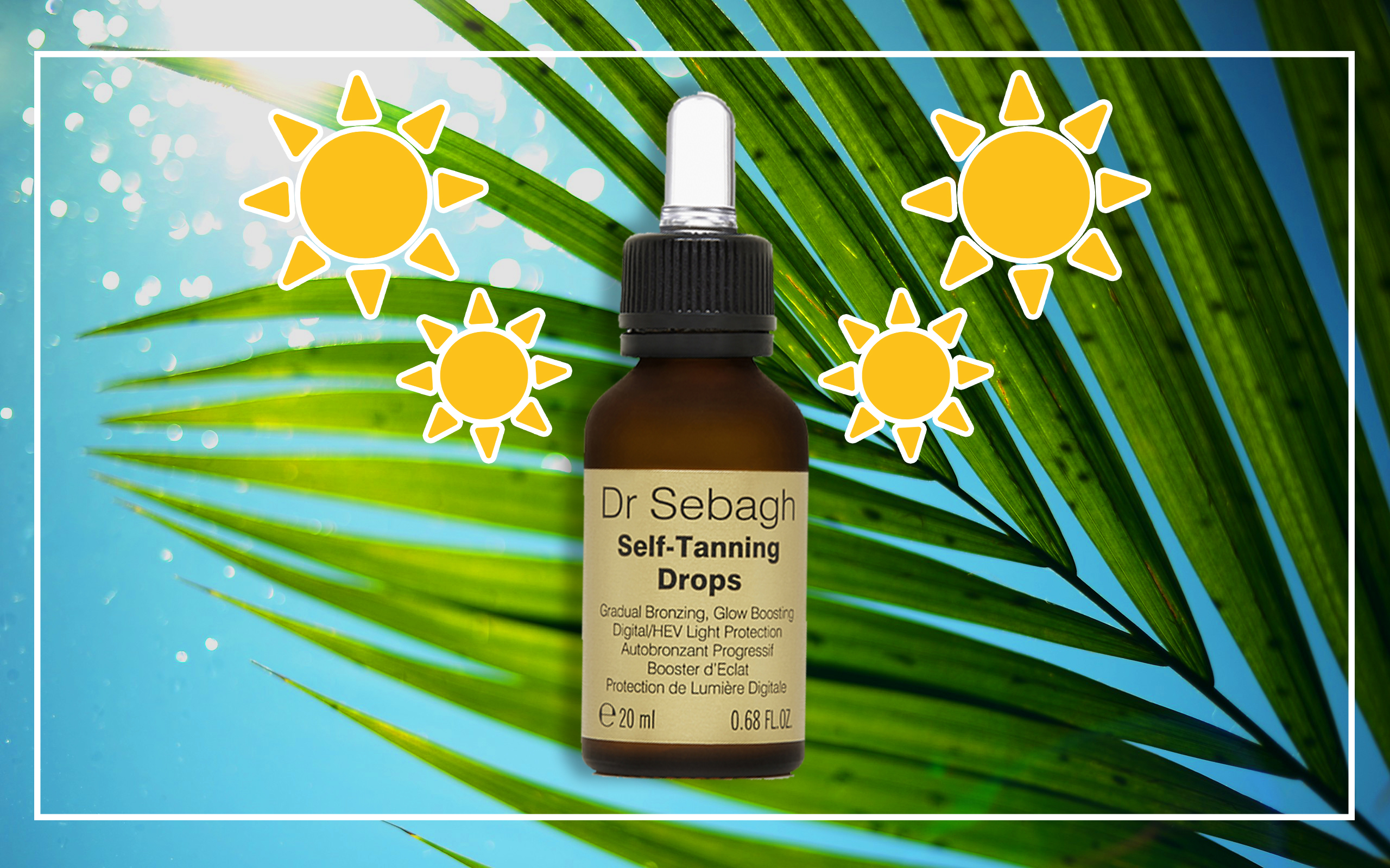 Top Solari estate 2018 - Dr. Sebagh Self-Tanning Drops