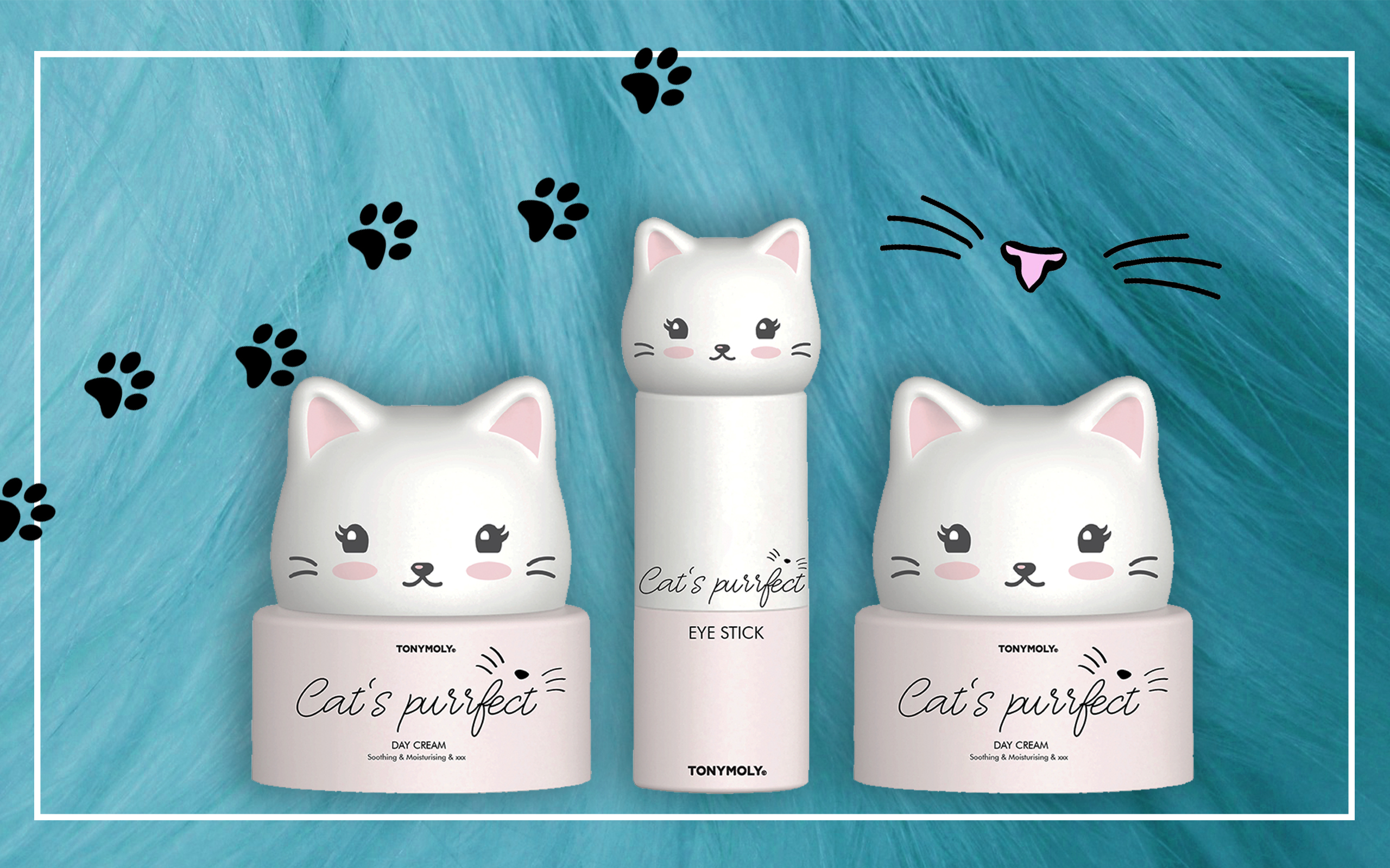 La nuova linea skincare Tony Moly Cat's Purrfect, dal packaging felino e super cute - Review, recensione, info, prezzo, opinioni, dove acquistare, data uscita