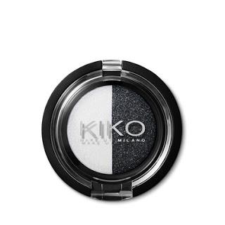 Kiko On-the-go Minis Light&Dark Eyeshadow Duo 04 White-Black