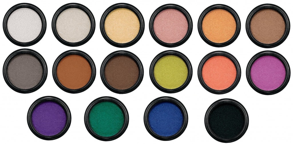 MAC Electric Cool Eyeshadows Fall 2015