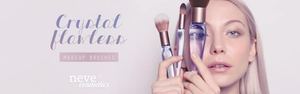 Nuovi Pennelli Crystal Flawless Neve Cosmetics