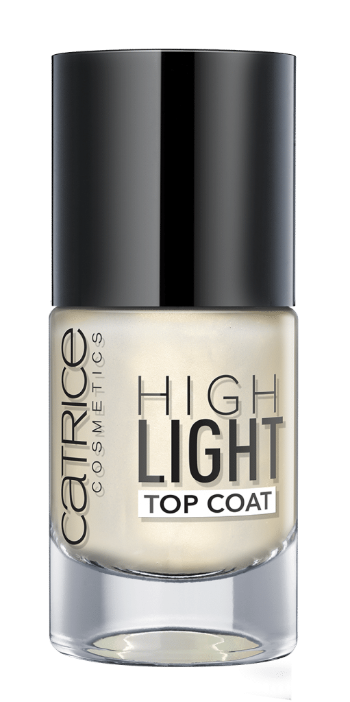 Catrice Primavera-Estate 2017, tutte le novità: smalto unghie Highlight Top Coat