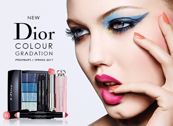 Cinque collezioni make-up primavera 2017 da non perdere - Dior Colour Gradation