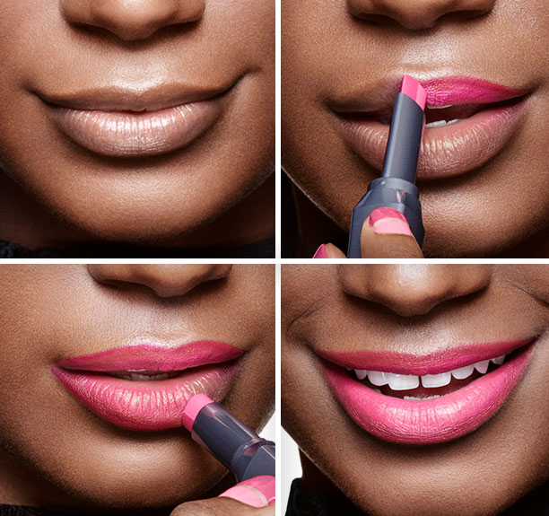 Benefit They're Real, tutte le novità - Applicazione rossetti Double The Lip