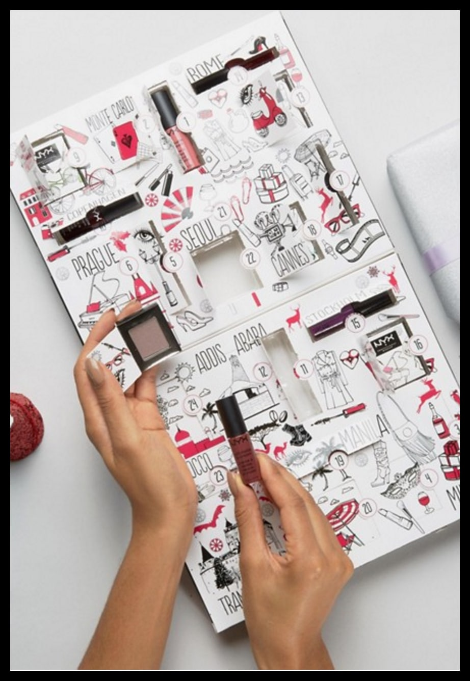 Nyx Calendario Avvento.Nyx Professional Make Up Calendario Avvento Pack About Beauty