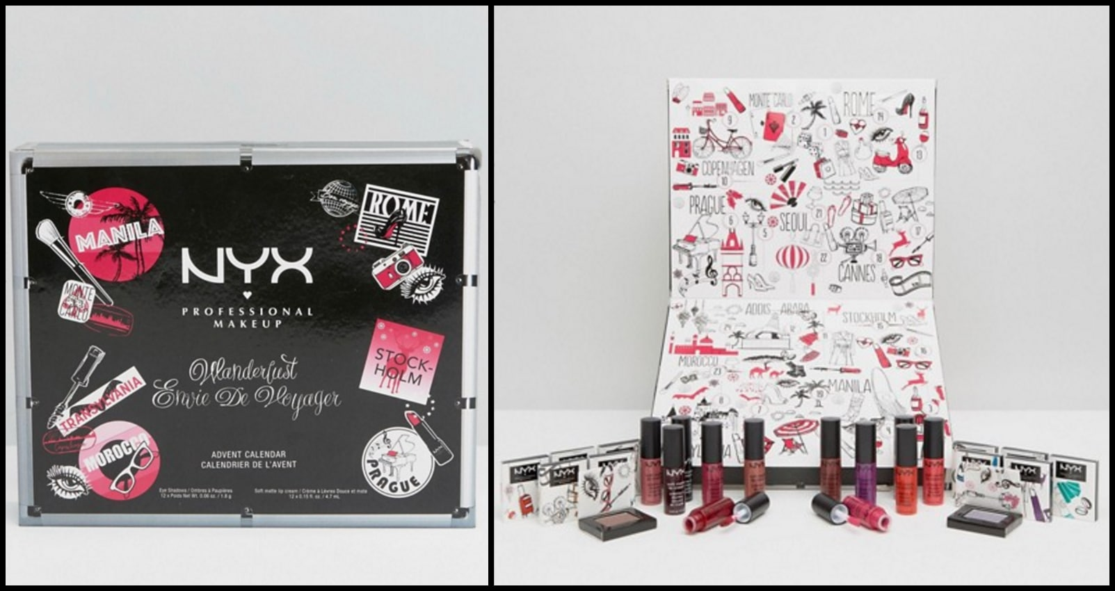 Calendario Avvento Makeup.Nyx Professional Make Up Calendario Avvento About Beauty