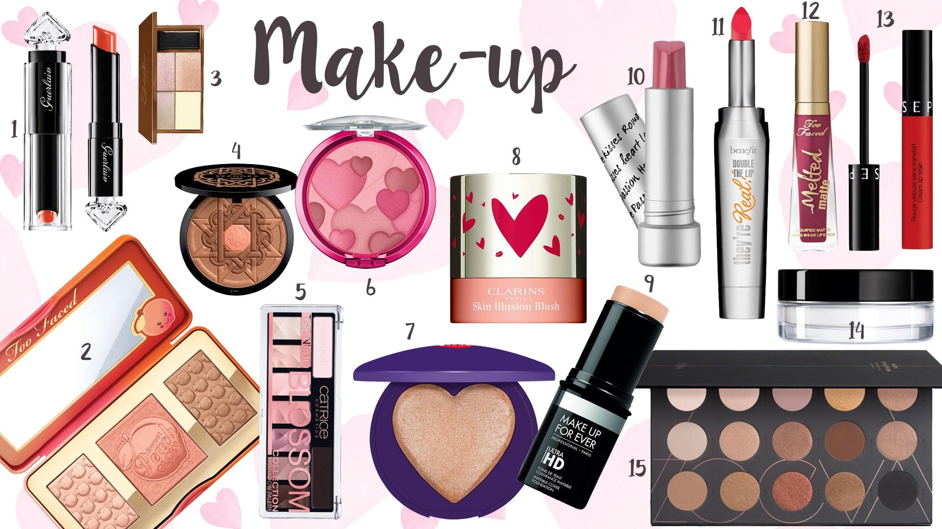 San Valentino 2017, le idee regalo per il make-up