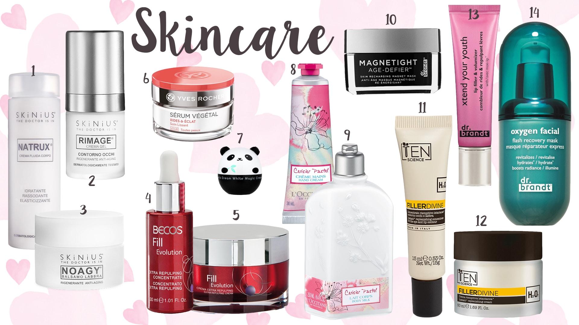 San Valentino 2017, le idee regalo per la cura della pelle