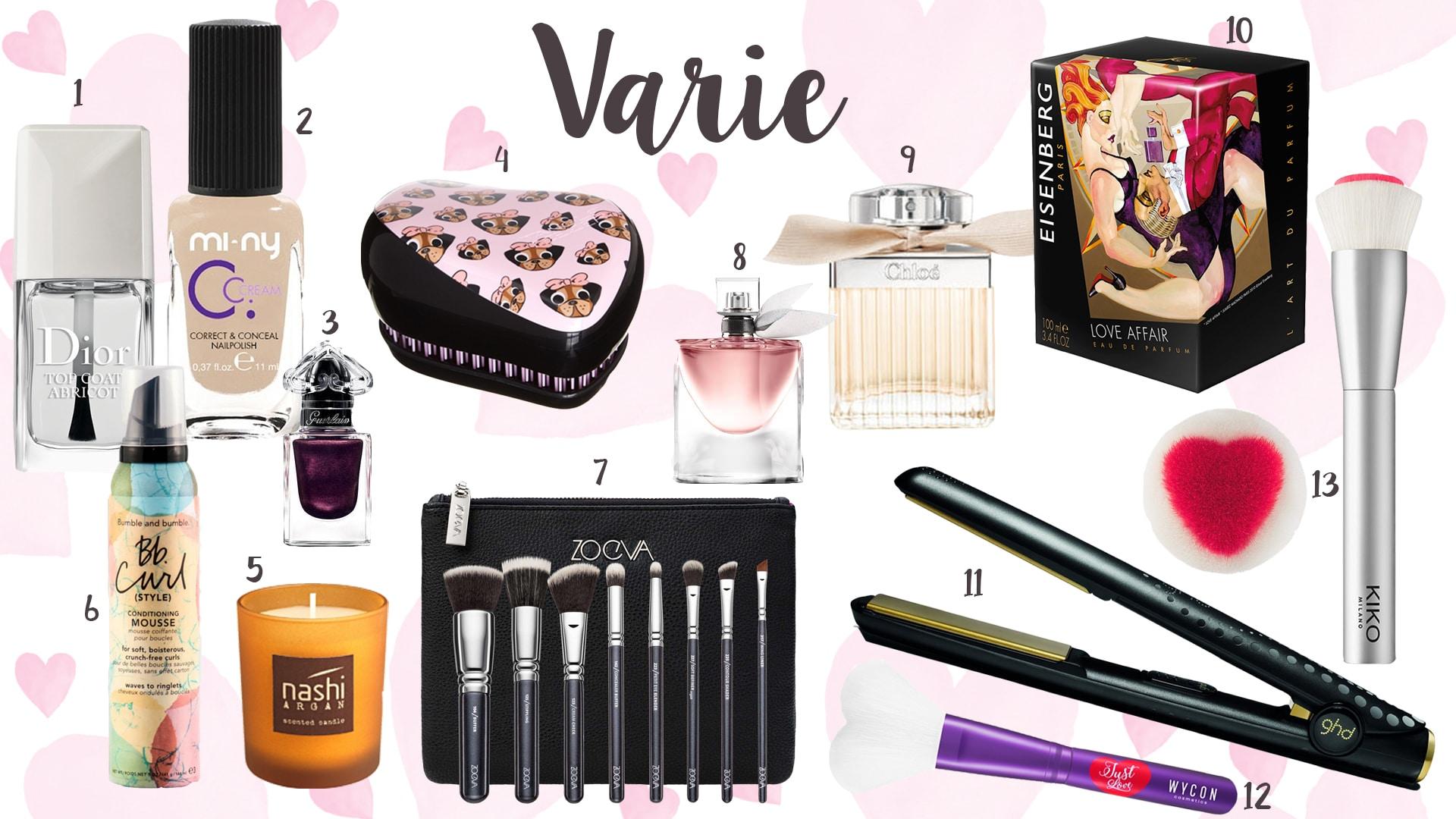 San Valentino 2017 - Idee regalo unghie, capelli, profumi e accessori