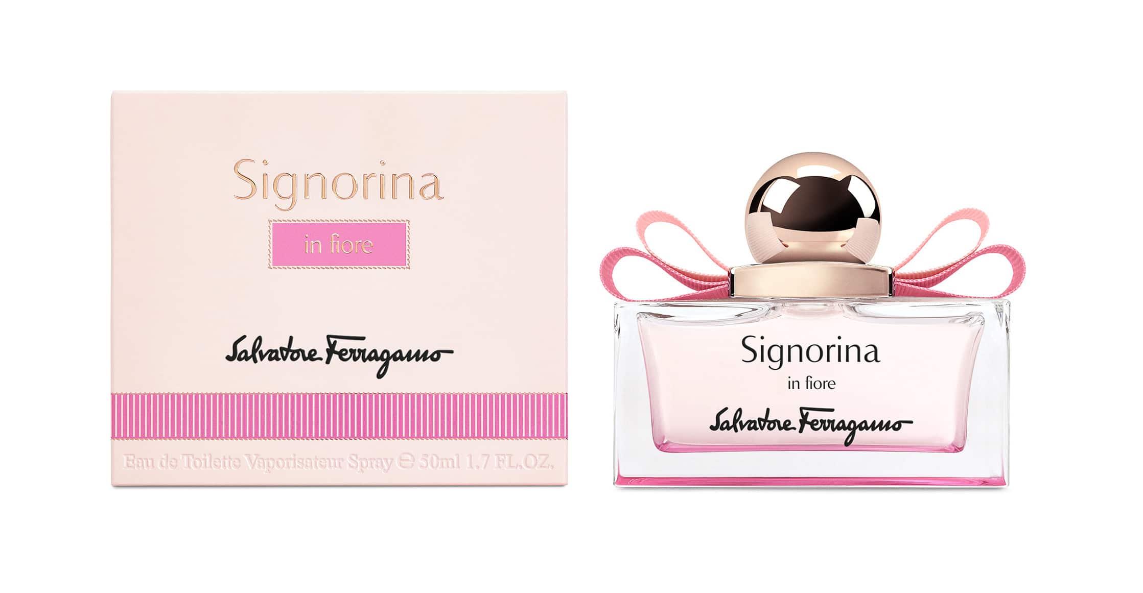 Signorina in Fiore, la nuova fragranza primaverile di Salvatore Ferragamo