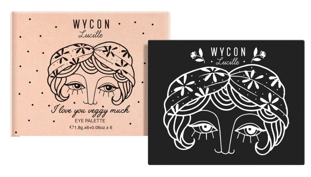 Wycon Lucille, la nuova collezione vegana - I love you veggy much palette ombretti