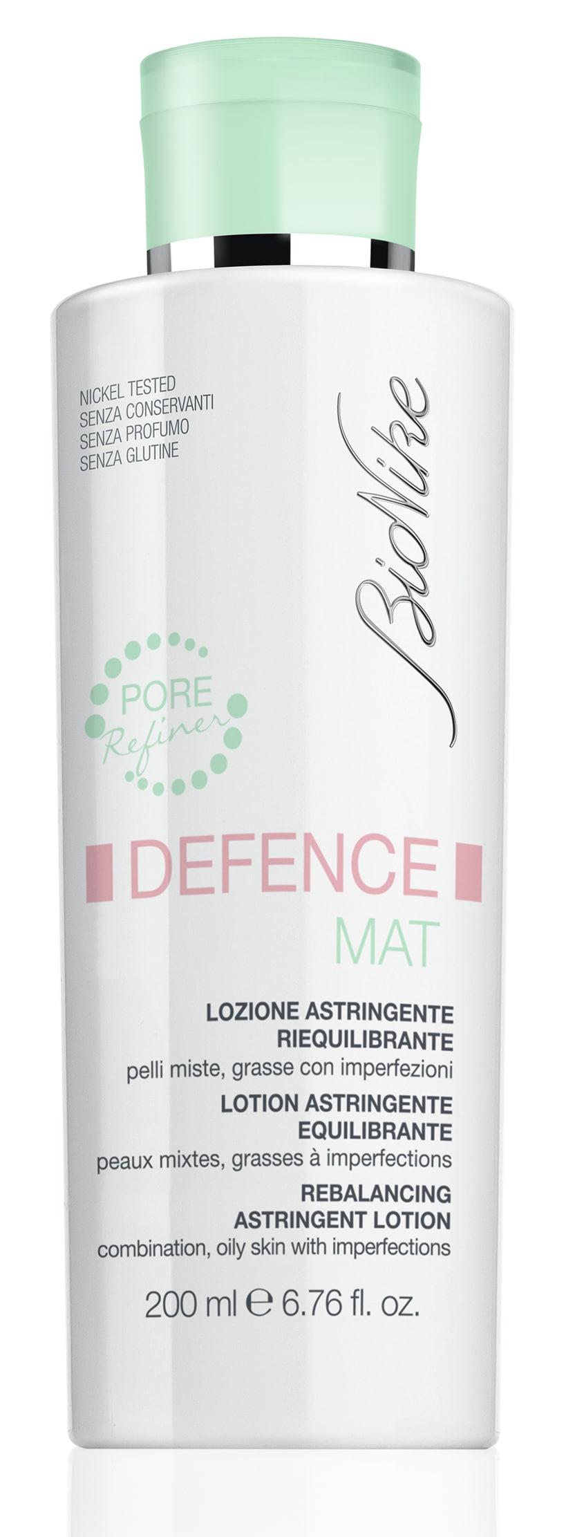 Lozione astringente riequilibrante Defence by BioNike