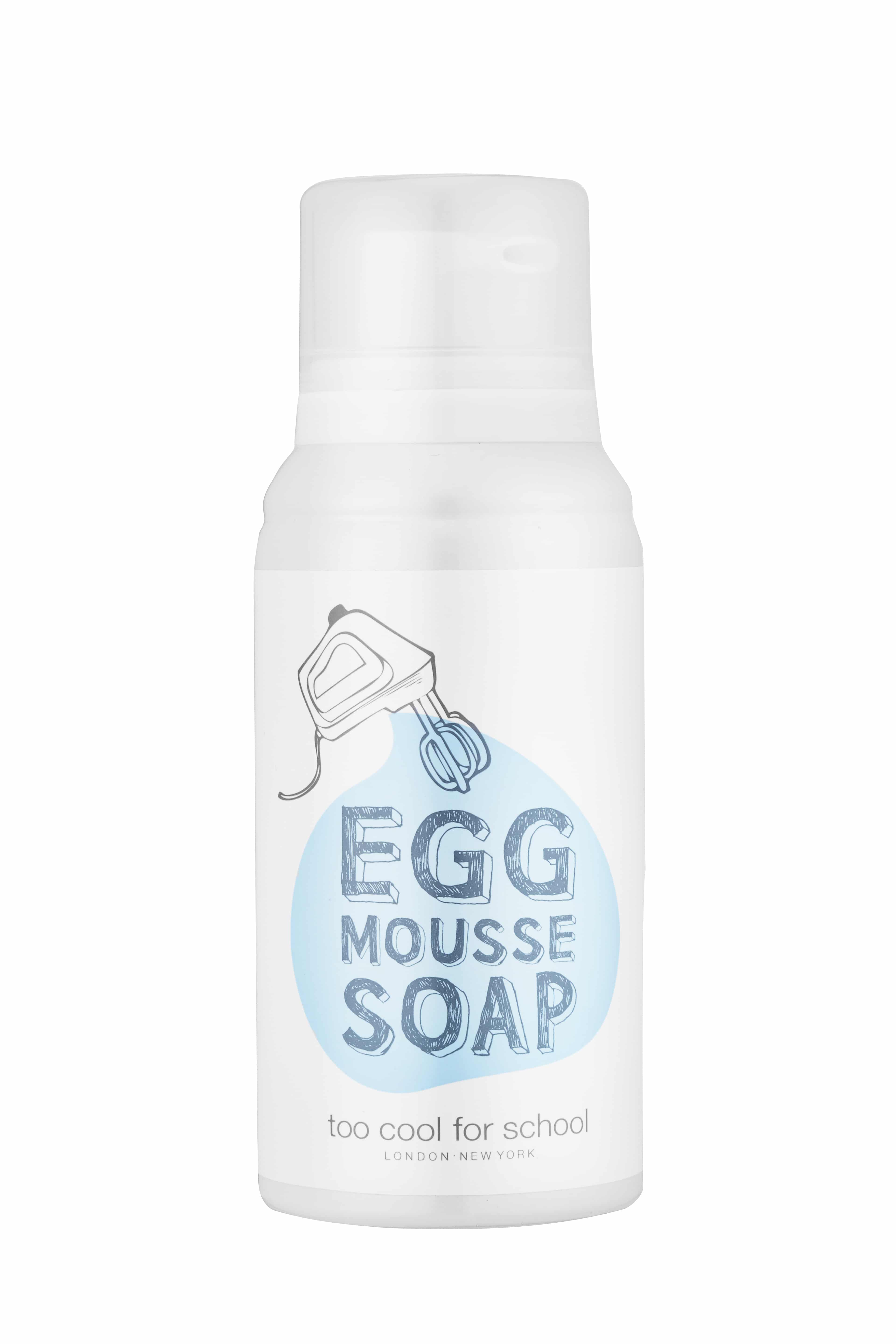 Egg mousse soap della linea Egg by Too Cool For School