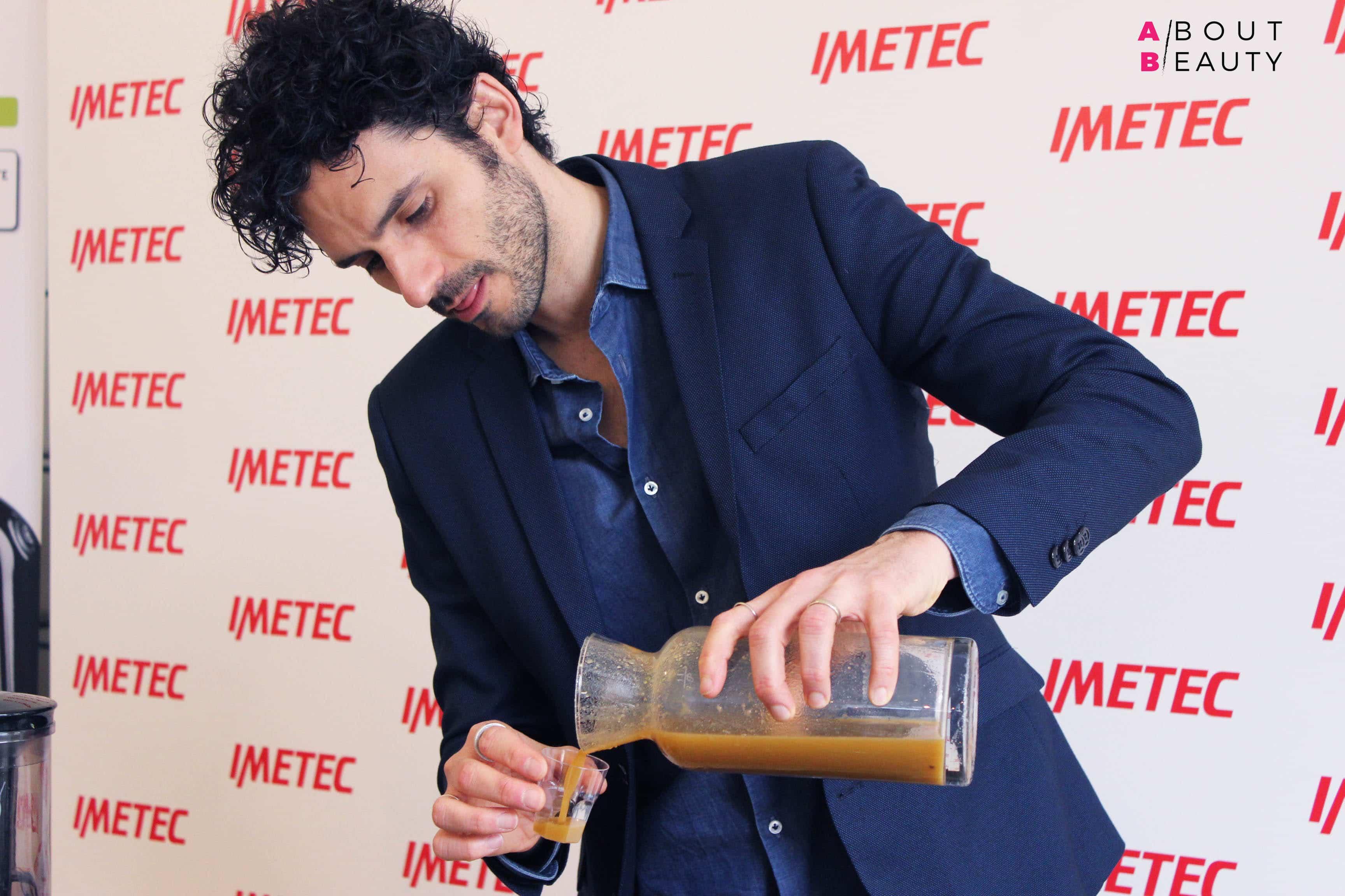 Le ricette di Marco Bianchi per l'evento Imetec Succo Vivo Wake Up Spring - Succo Rigenerante