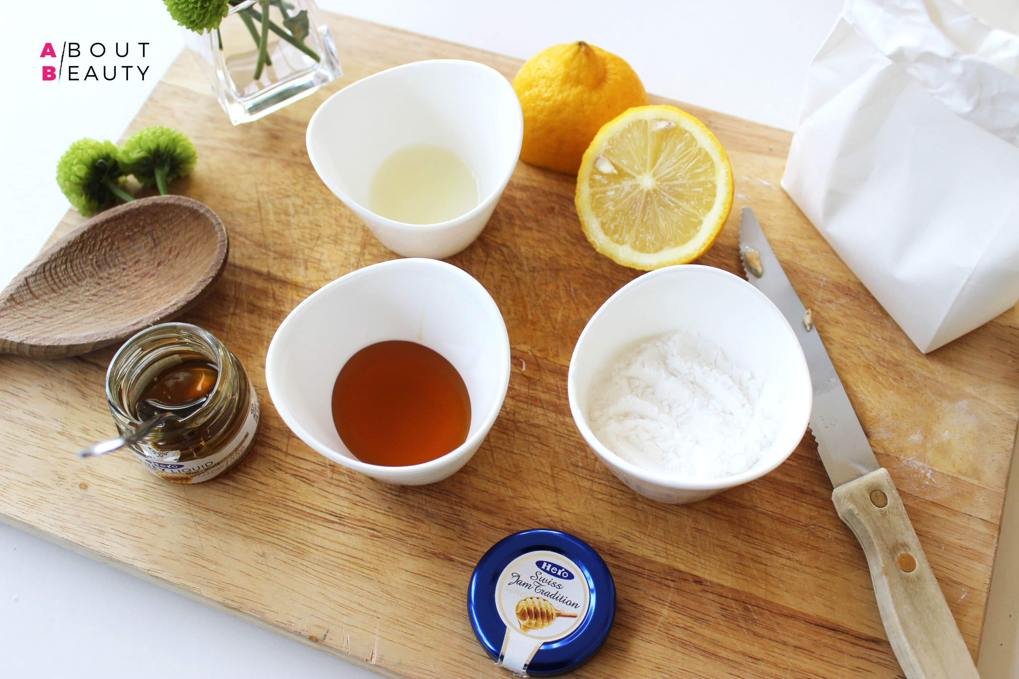 Le ricette di bellezza di About Beauty - Maschera Levigante al miele - Ingredienti