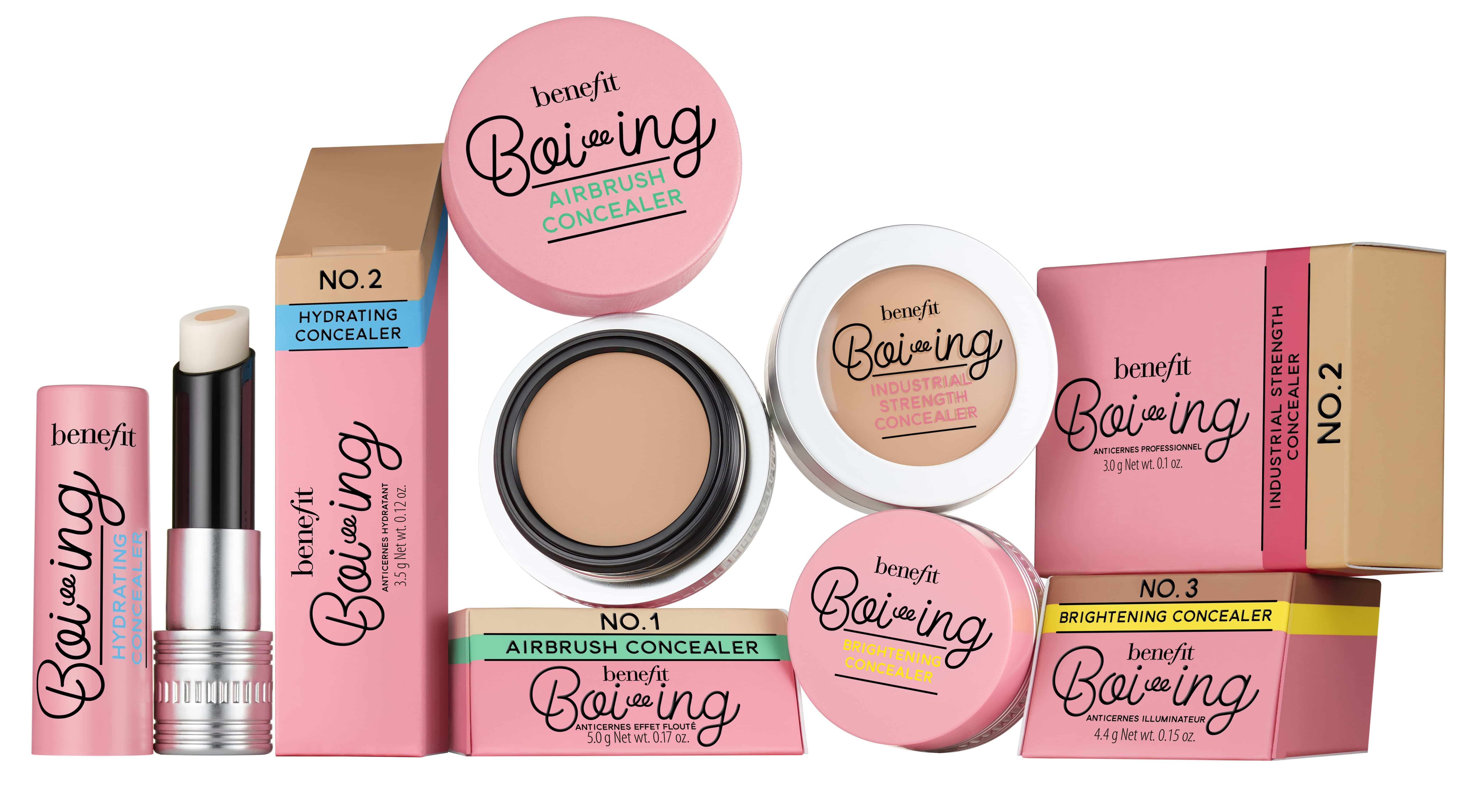 Benefit Cosmetics, tutte le novità make-up per la Primavera-Estate 2017 - Correttori Boi-ing
