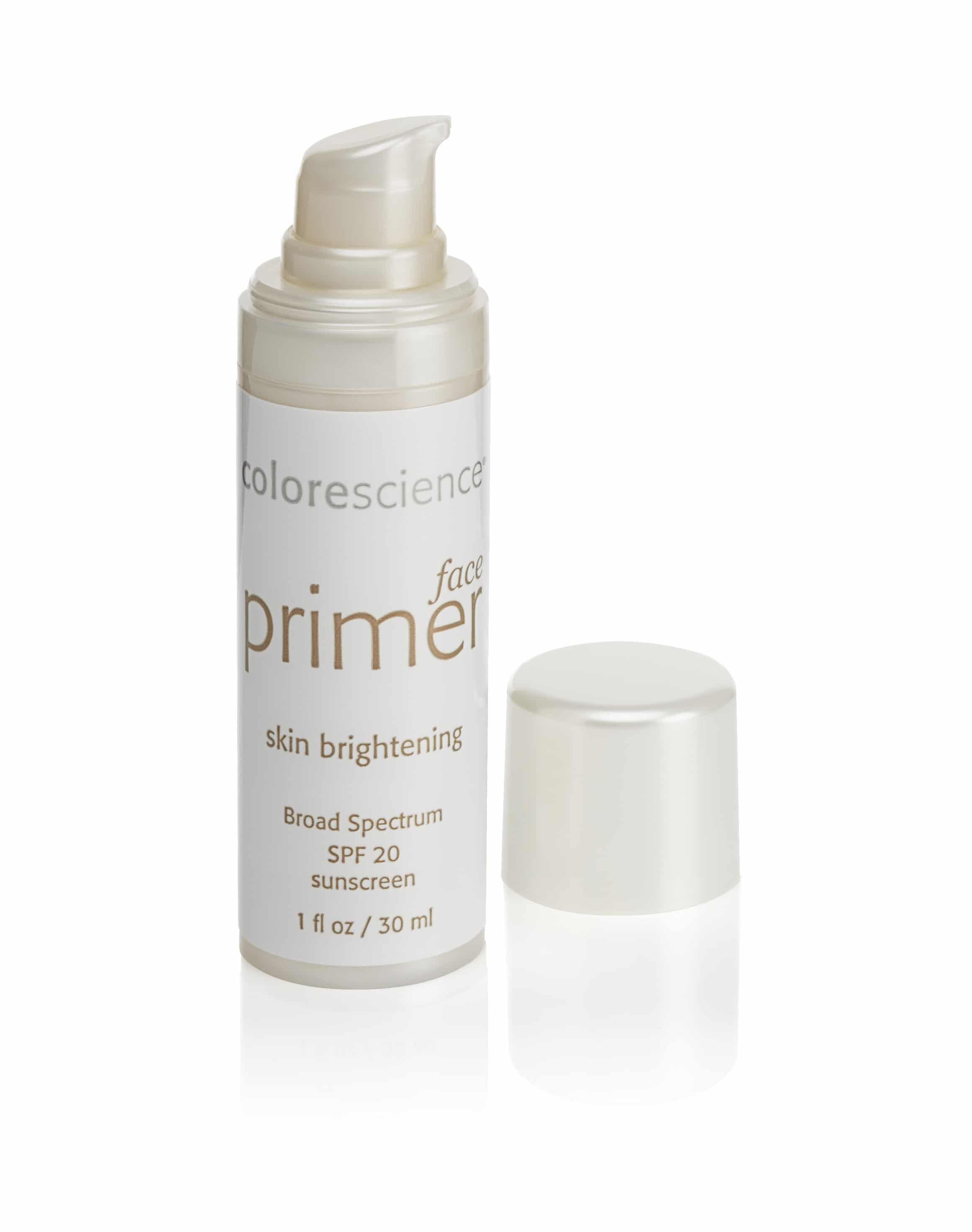 Colorescience make-up inventa un primer illuminante per il viso dal finish satinato.