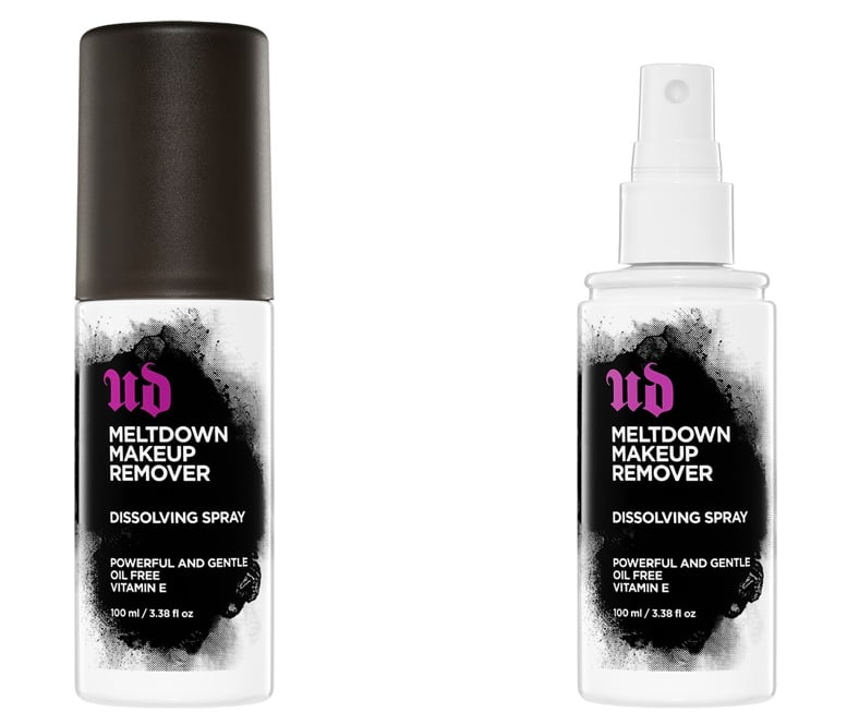 Lo spray struccante viso Meltdown Make-up Remover by Urban Decay permette di eliminare il trucco in una sola passata