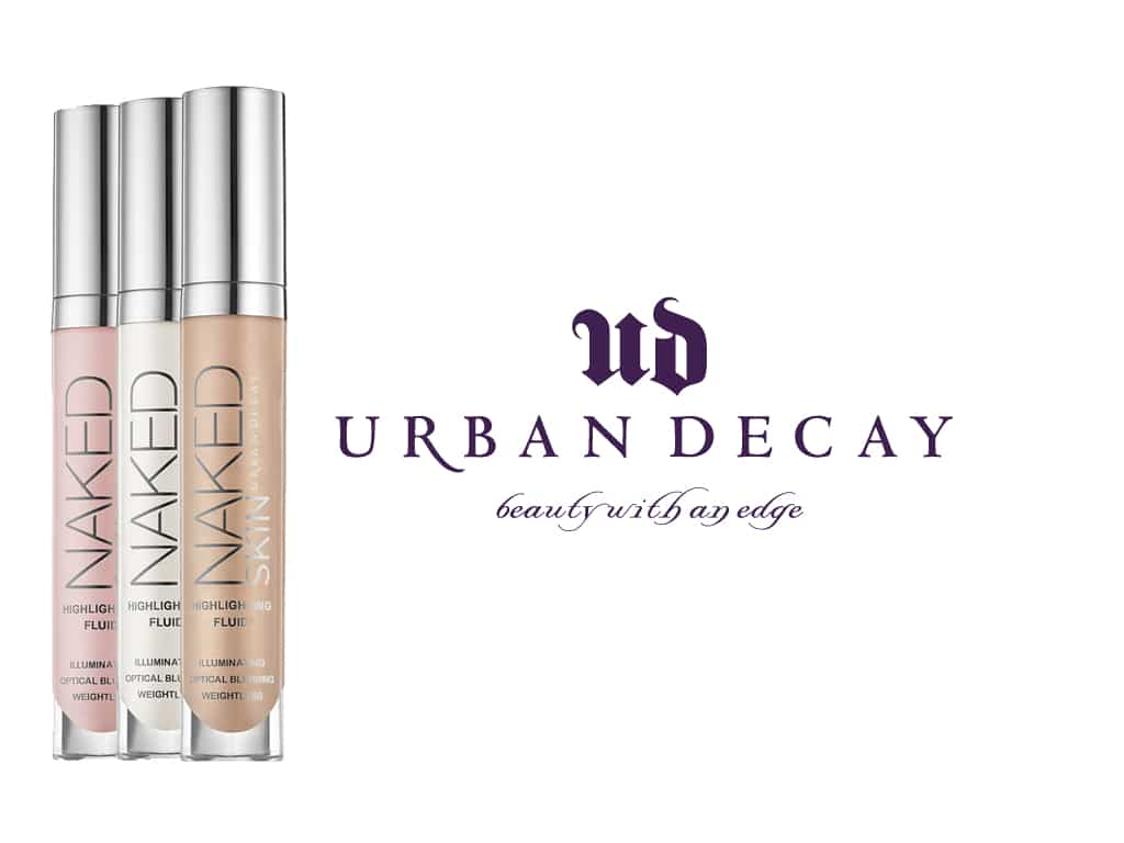 L'illuminante in tre varianti Naked Skin Highlighting Fluid by Urban Decay