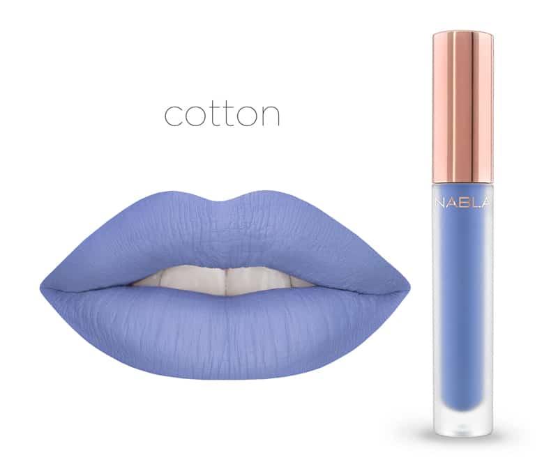 Cotton - Dreamy Matte Liquid Lipsticks, le nuove tinte labbra Nabla Cosmetics