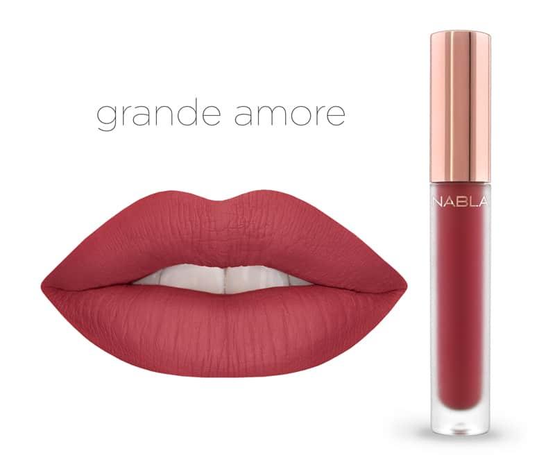 Grande Amore - Dreamy Matte Liquid Lipsticks, le nuove tinte labbra Nabla Cosmetics