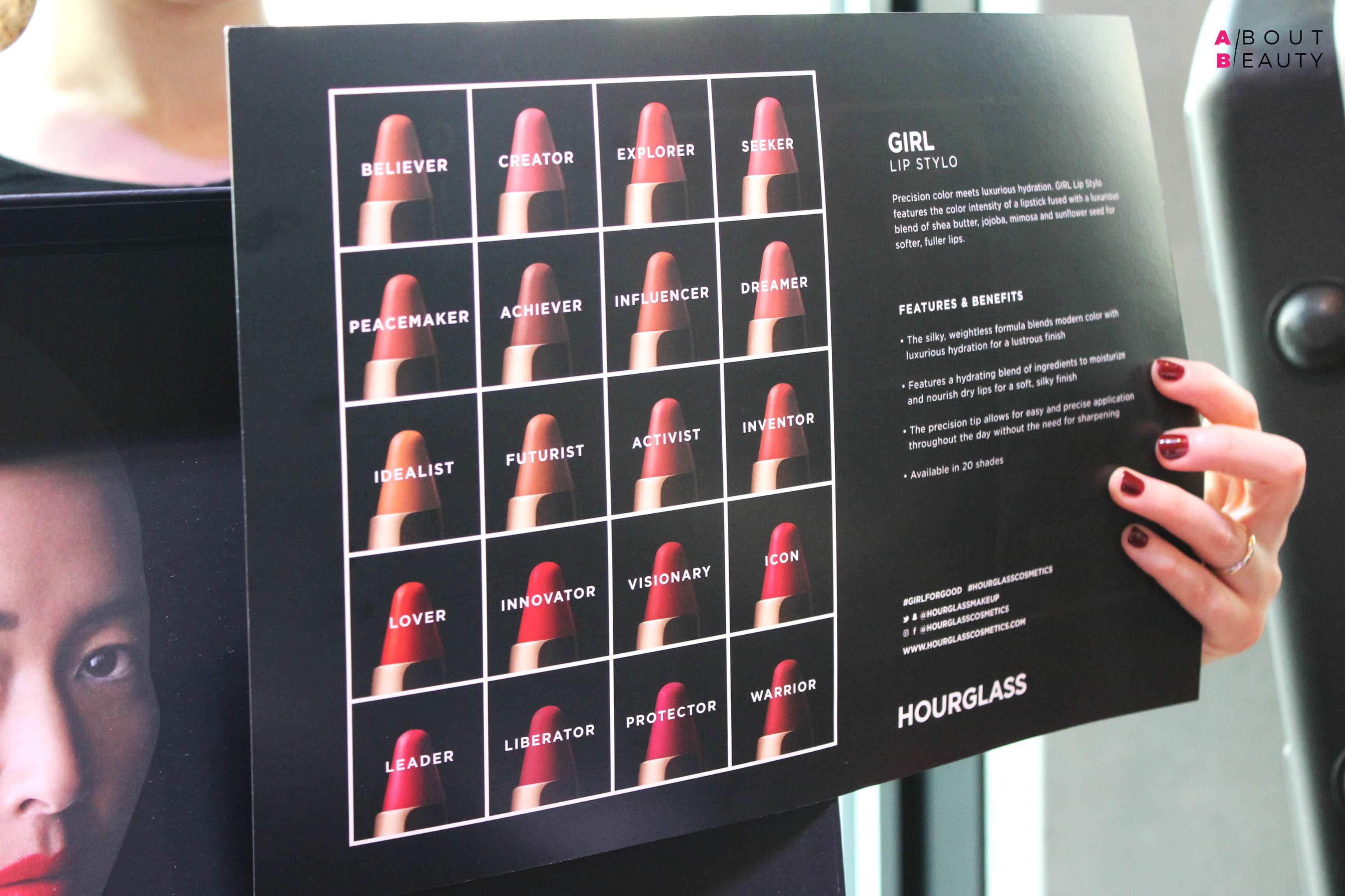 Hourglass presenta i nuovi rossetti Girl Lip Stylo in 20 tonalità - Tutti i colori