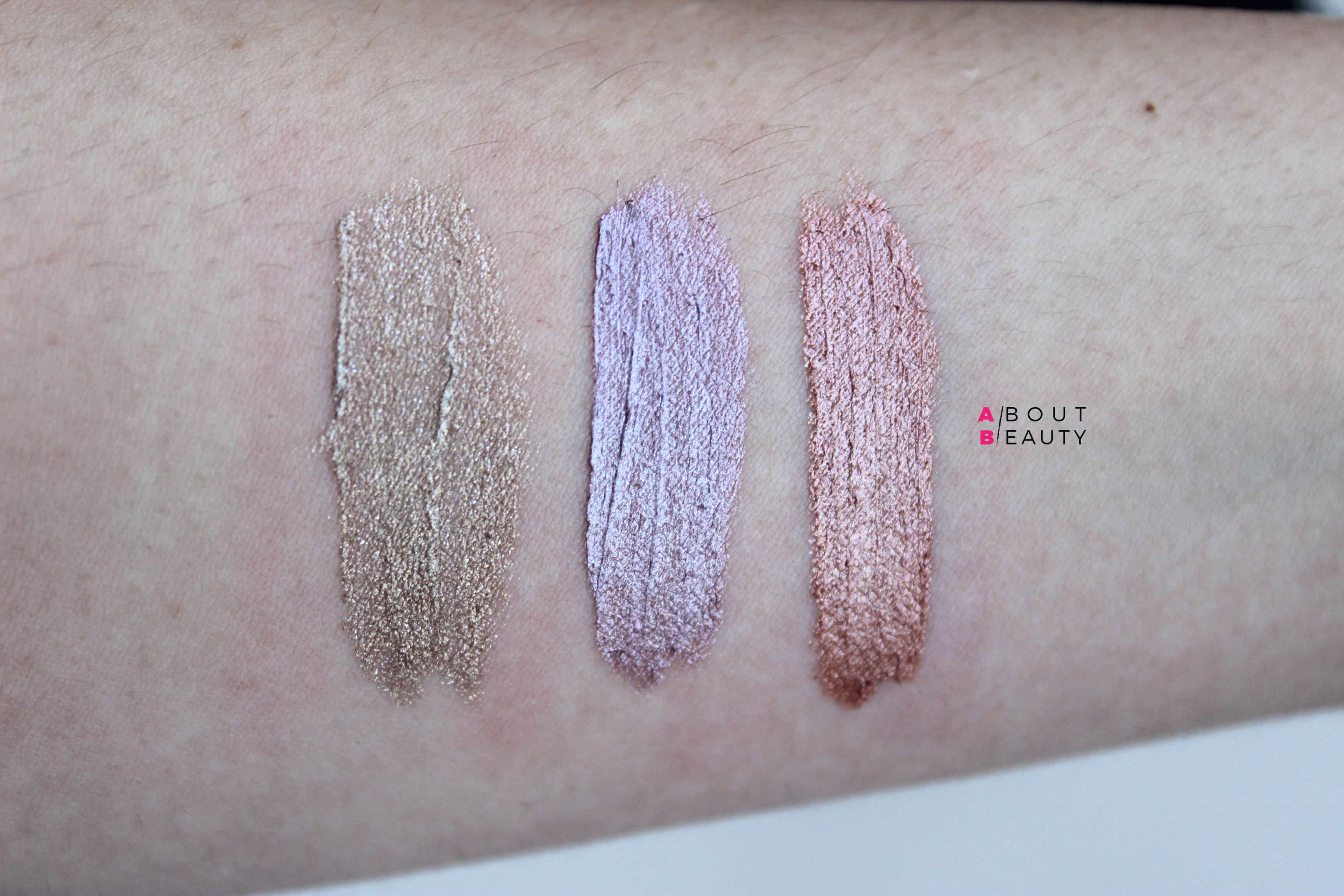 Kiotis Ombretti in crema - Swatches