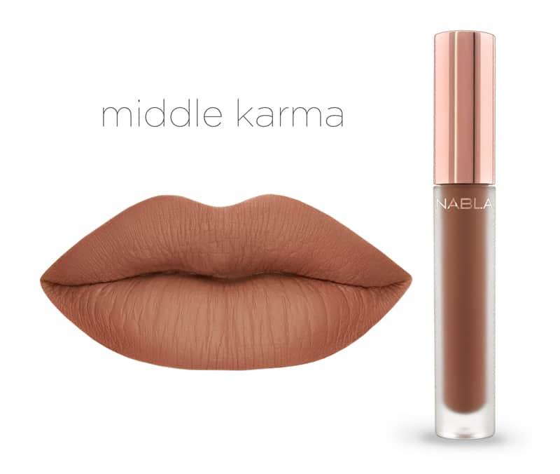 Middle Karma - Dreamy Matte Liquid Lipsticks, le nuove tinte labbra Nabla Cosmetics