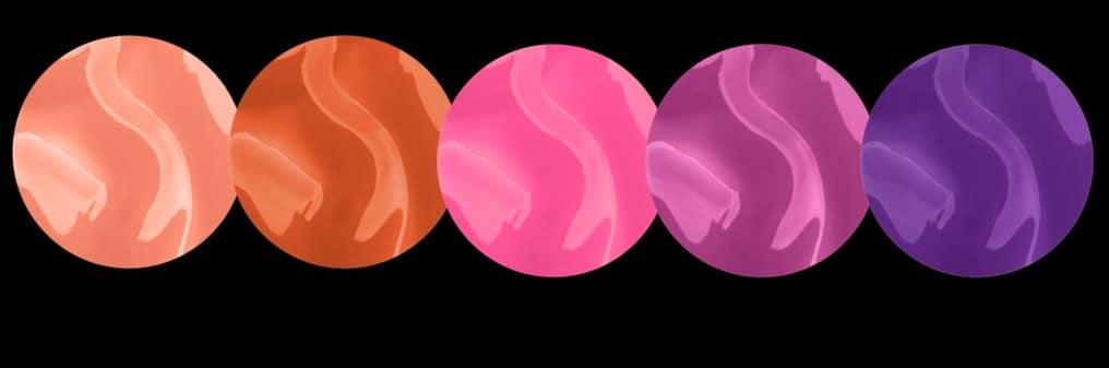 Le 6 tonalità del gloss Enamored by Marc Jacobs Beauty