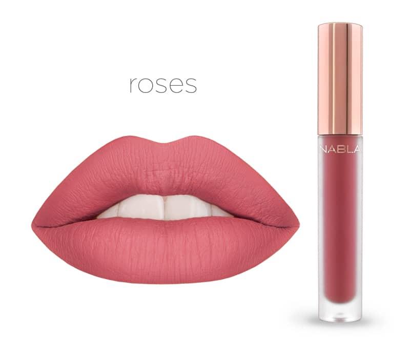 Roses - Dreamy Matte Liquid Lipsticks, le nuove tinte labbra Nabla Cosmetics