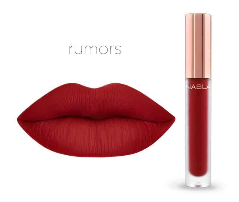 Rumors - Dreamy Matte Liquid Lipsticks, le nuove tinte labbra Nabla Cosmetics