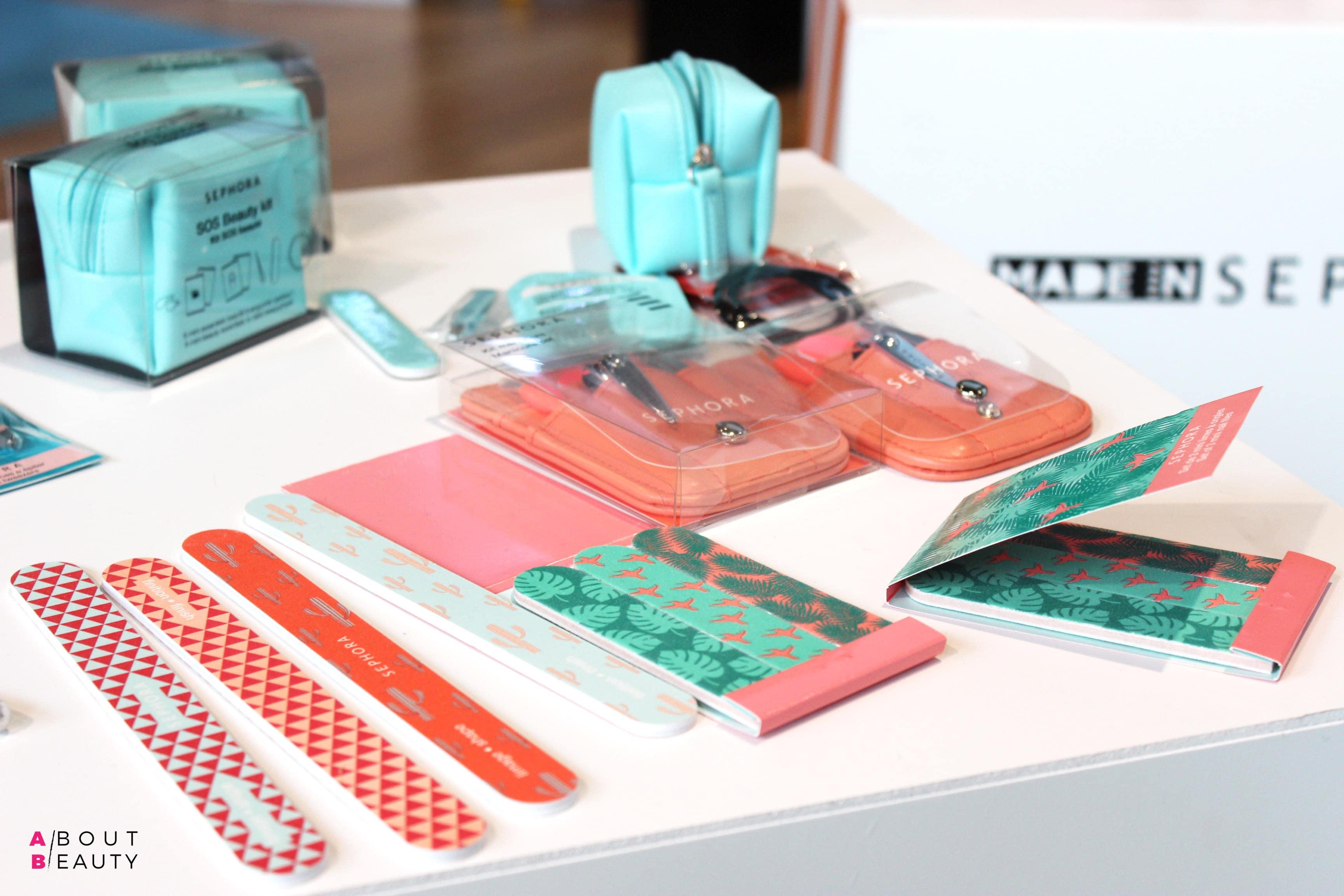 Sephora, tutte le novità primavera-estate 2017 - Beauty To Go - Kit sos per viso, unghie e capelli