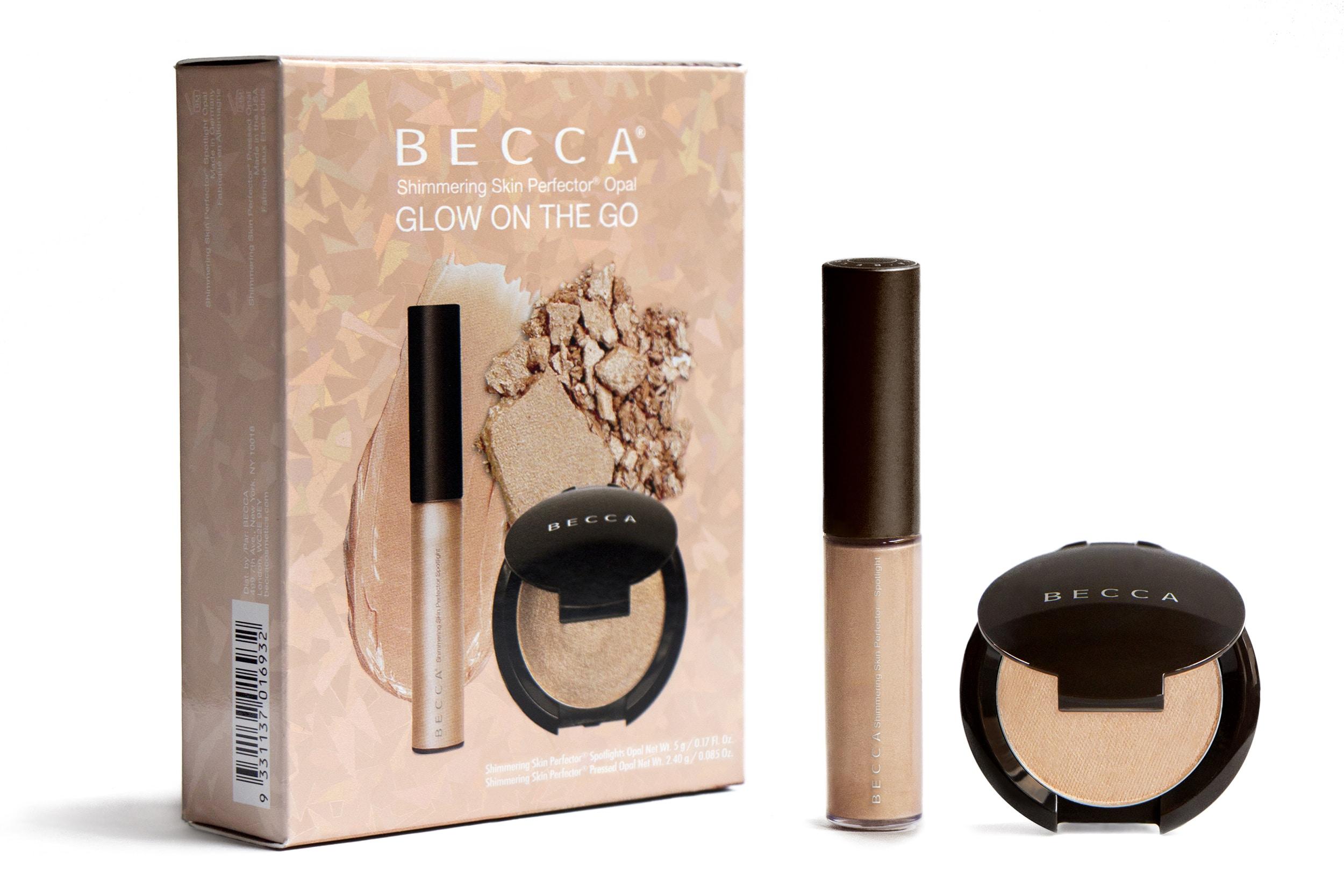 Becca Glow On The Go: un kit composto da due ciprie glitterate dalla formula diversa