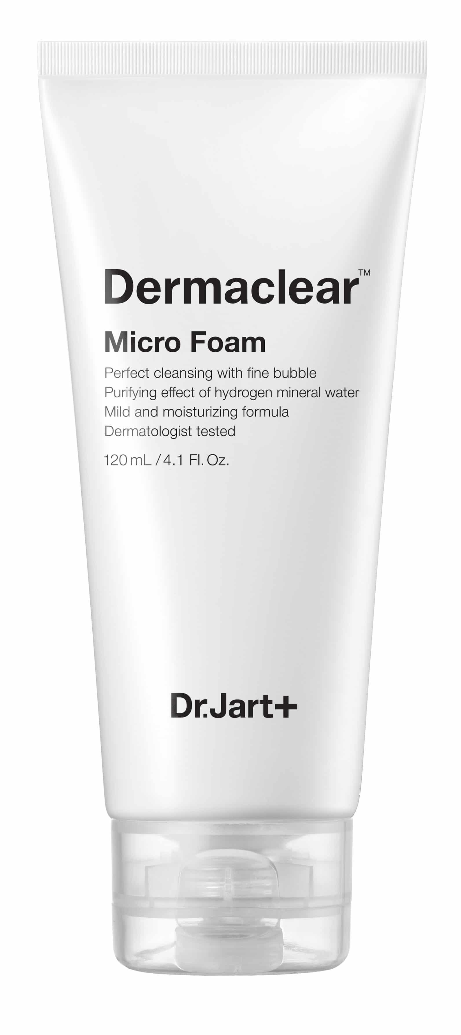 Dr. Jart Dermaclear Micro Foam: la mousse detergente ipoallergenica