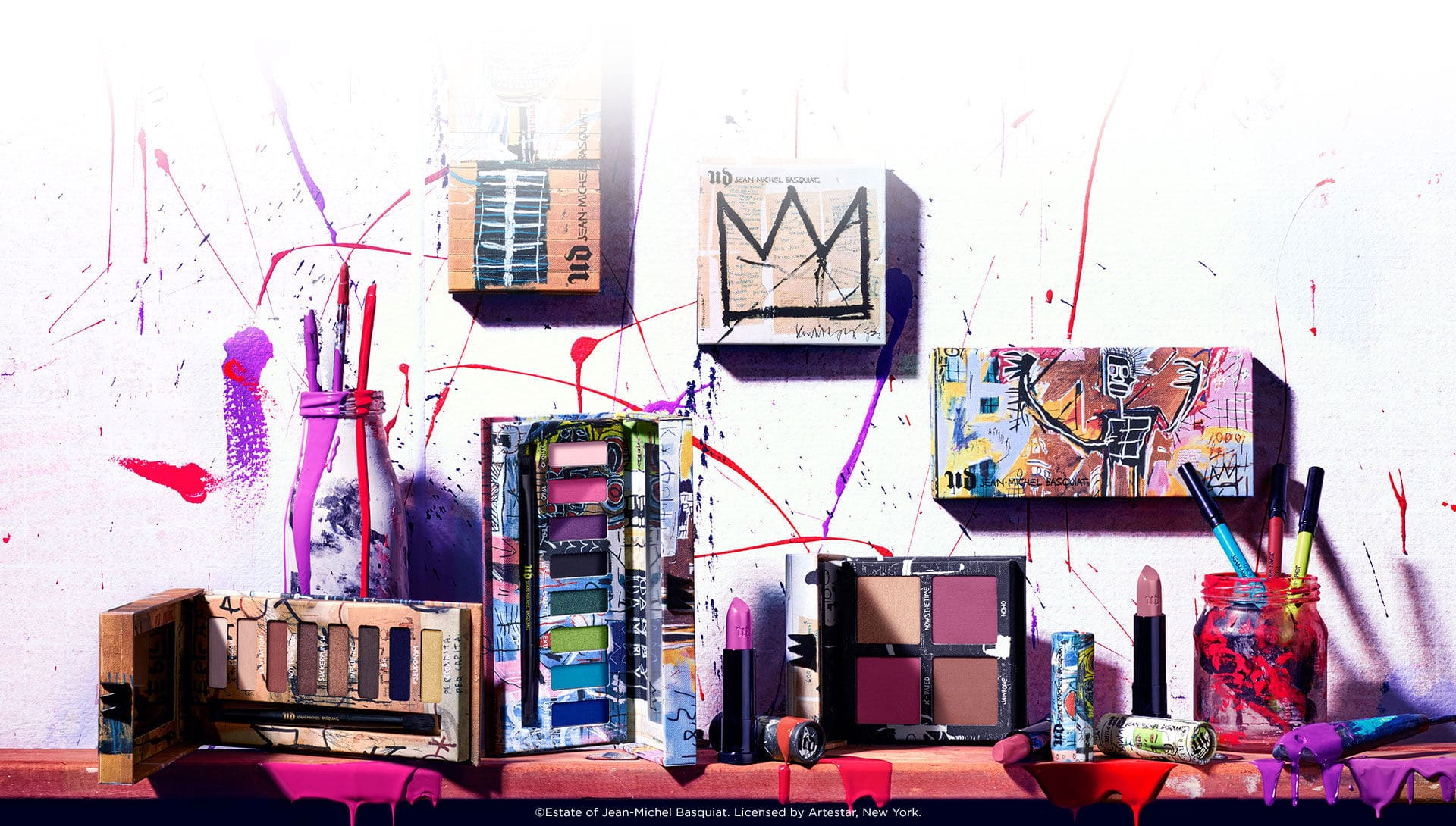Jean-Michel Basquiat Collection by Urban Decay