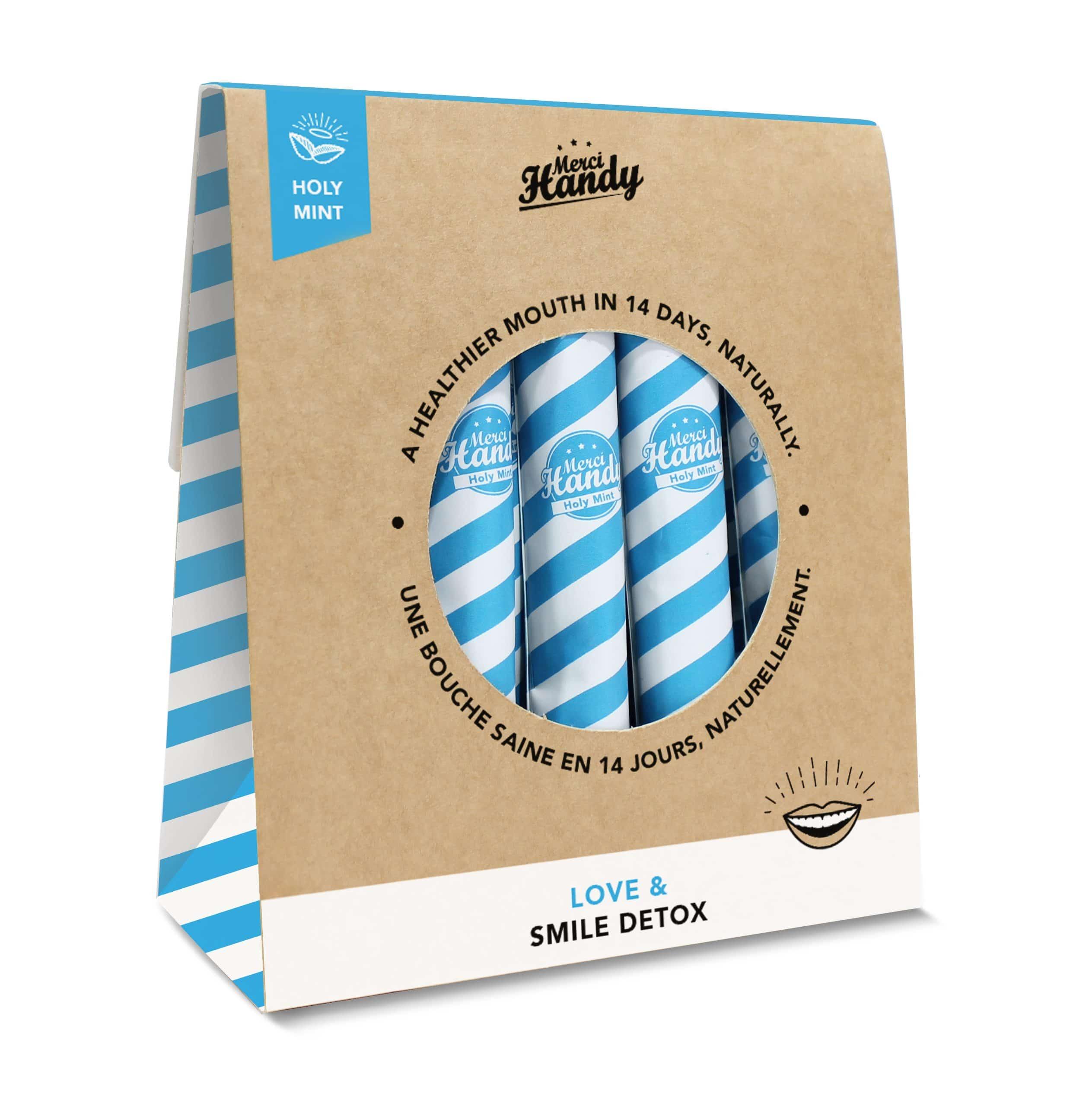 Merci Handy arriva da Sephora: tutti i prodotti - Smile Detox Holy Mint alla menta