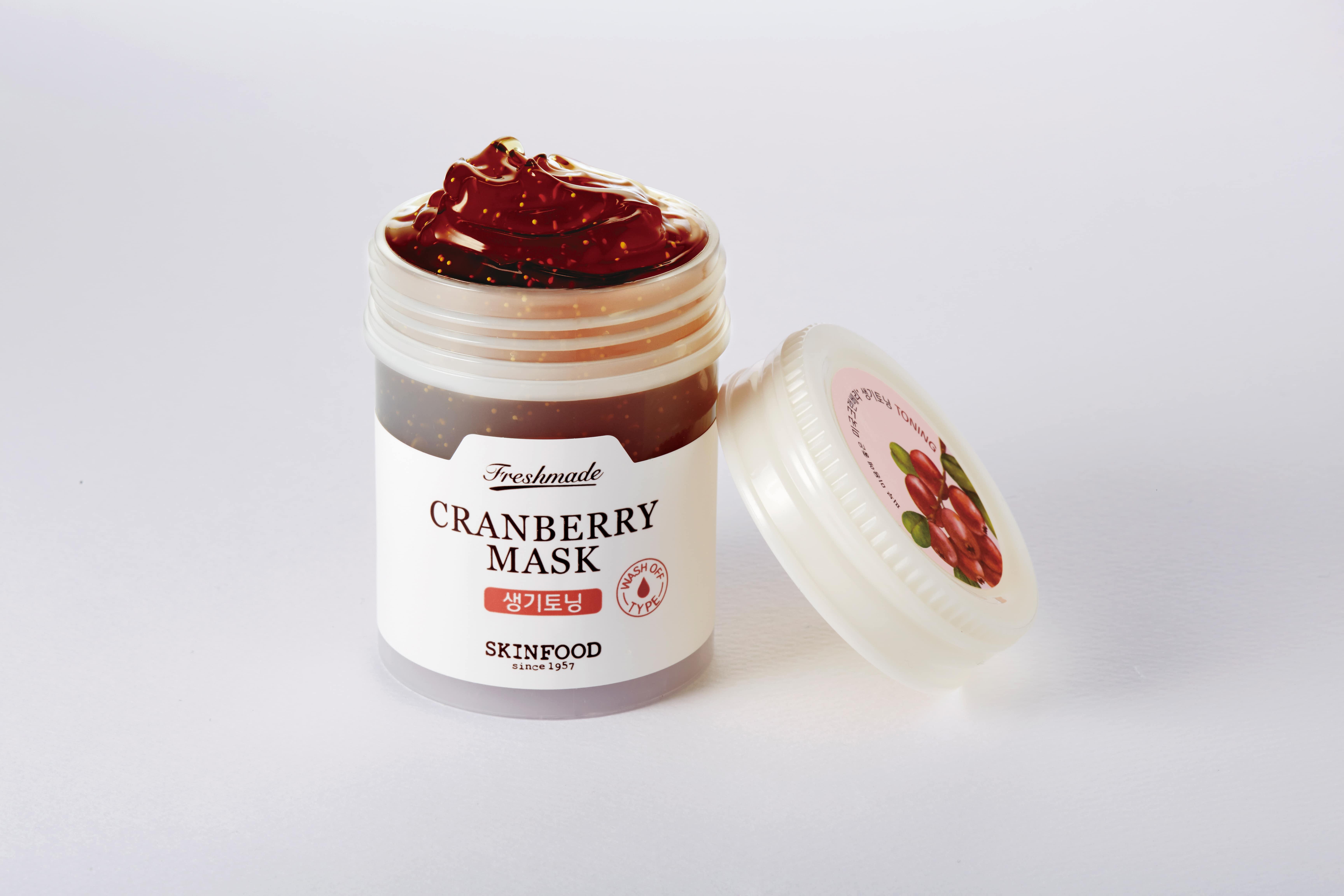 Skinfood: maschera al mirtillo rosso rivitalizzante