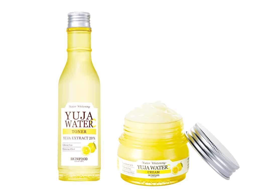 Skinfood: lozione e crema alla Yuja