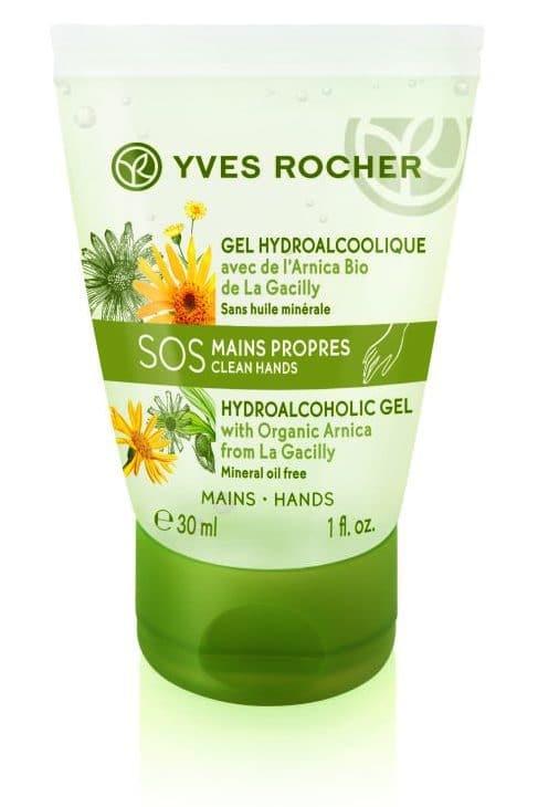 Yves Rocher Trattamento Mani e Unghie Completo - Gel disinfettante Sos Risciacquo