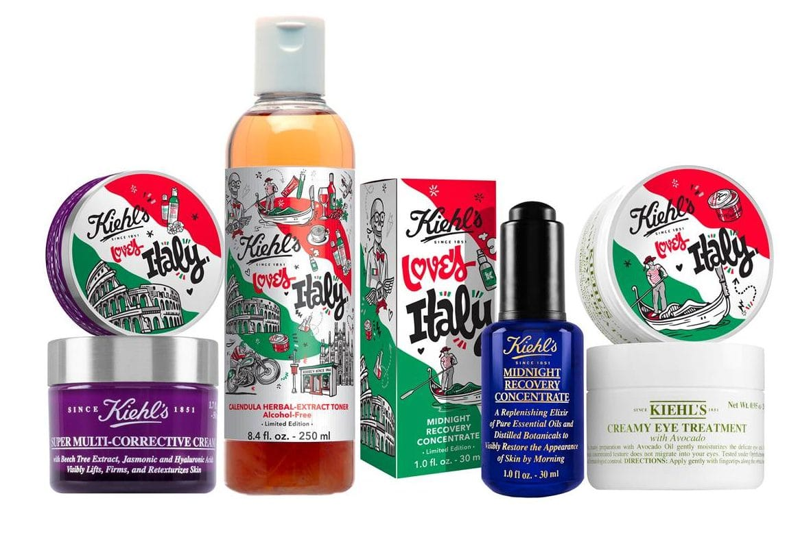 AB Promo #1 - Tutte le offerte beauty dal 27 maggio al 4 giugno - Kiehls Loves Italy - In omaggio 5 campioni di prodotti Kiehls in base alle proprie esigenze specifiche