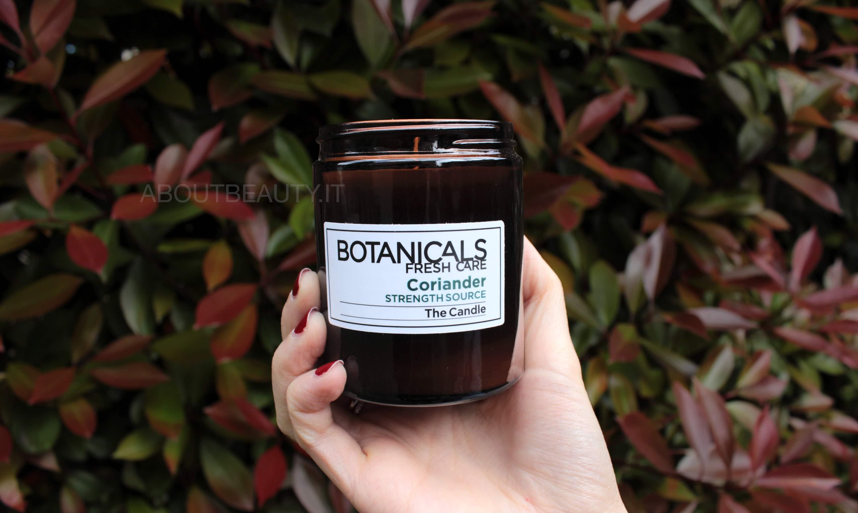 L'Oreal Botanicals Fresh Care, la linea al Cartamo per capelli secchi - La candela profumata al coriandolo