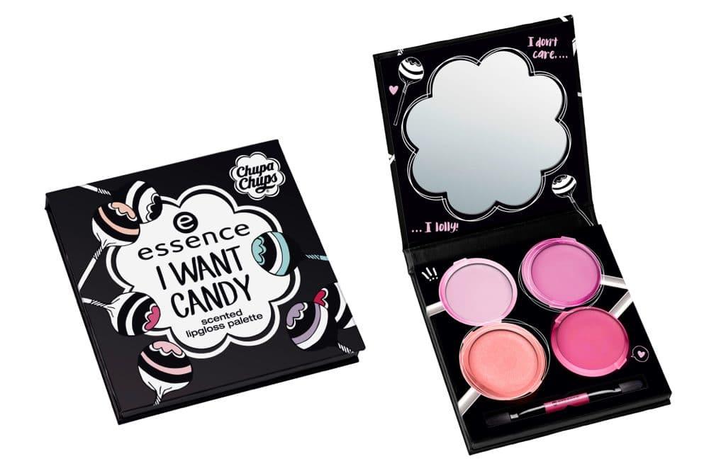 Essence I want candy: la palette di lucidalabbra profumati