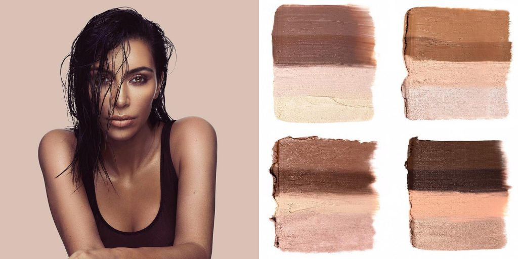 Tonalità dei Kit KKW Beauty Crème Contour and Higlight