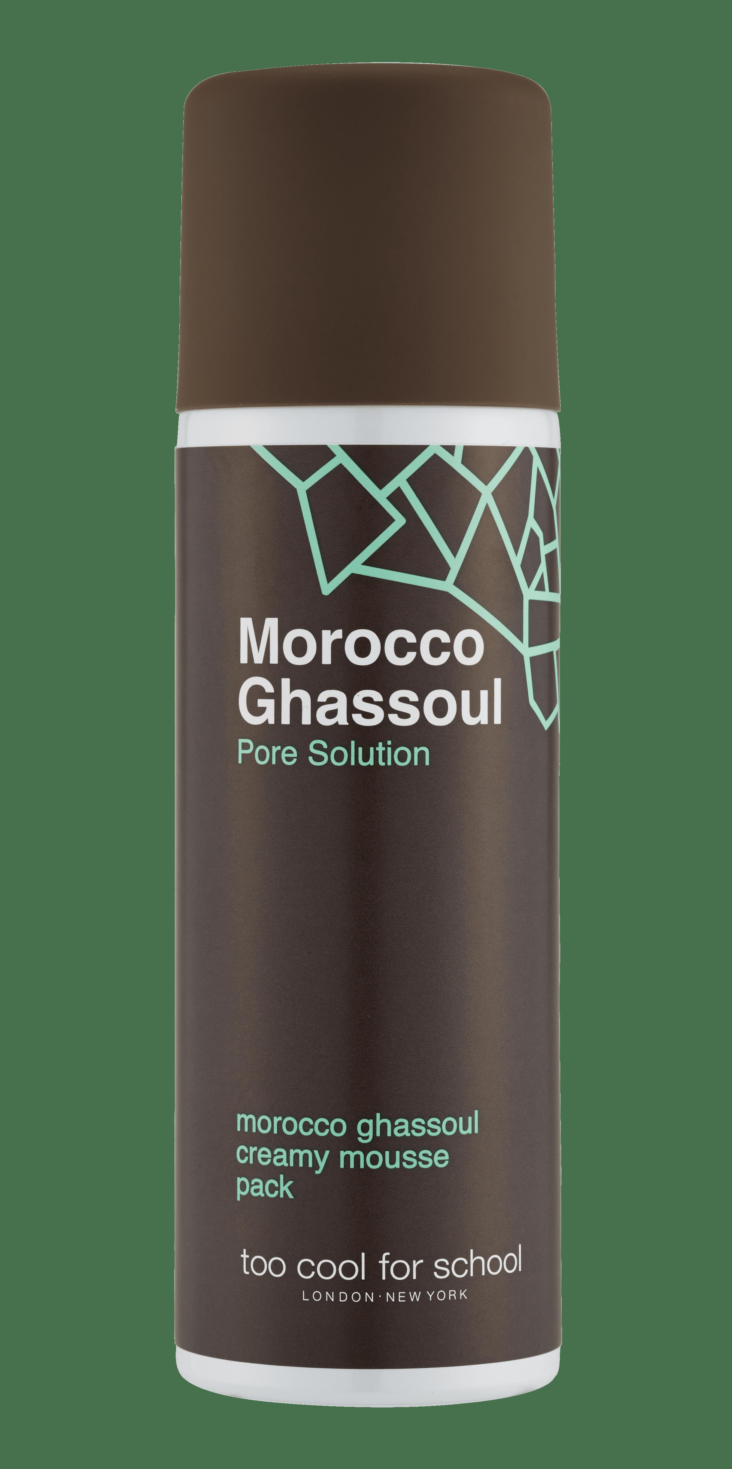 Pumpkin e Morocco Ghassoul Creamy Mousse Pack: una mousse in crema che purifica i pori in profondità