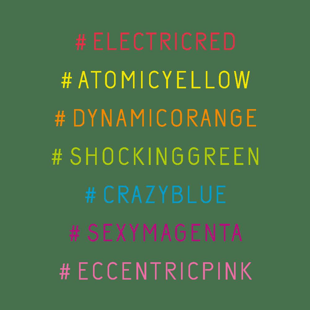 Revolution Neon di Alfaparf: le 7 nuance fluorescenti per capelli sempre accesi