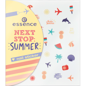 Essence Next Stop Summer: sticker unghie per nail art dai disegni estivi e divertenti