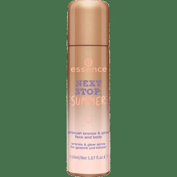 Essence Next Stop Summer tred edition: lo spary abbronzante e illuminante per una pelle baciata dal sole